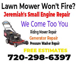 Lawn Mower Repair and Service